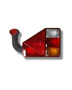 Earpoint-Leuchte rechts mit Gummiarm und Rückfahrscheinwerfer